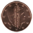 Coin visual: Netherlands, 1 cent (Second series)