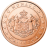 Coin visual: Monaco, 1 cent (First series)
