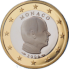 Coin visual: Monaco, 1 Euro (Second series)