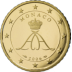 Coin visual: Monaco, 50 cents (Second series)