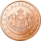 Coin visual: Monaco, 5 cents (First series)