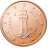Coin visual: San Marino, 1 cent (First series)