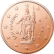 Coin visual: San Marino, 2 cents (First series)