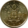 Coin visual: Vatican, 10 cents (Fith series)