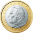 Coin visual: Vatican, 1 Euro (First series)