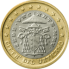 Coin visual: Vatican, 1 Euro (Second series)