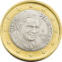Coin visual: Vatican, 1 Euro (Third series)