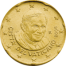 Coin visual: Vatican, 20 cents (Third series)