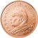 Coin visual: Vatican, 2 cents (First series)