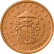 Coin visual: Vatican, 2 cents (Second series)