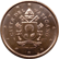 Coin visual: Vatican, 2 cents (Fith series)