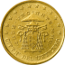 Coin visual: Vatican, 50 cents (Second series)
