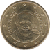 Coin visual: Vatican, 50 cents (Fourth series)