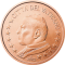 Coin visual: Vatican, 5 cents (First series)