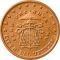 Coin visual: Vatican, 5 cents (Second series)