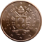 Coin visual: Vatican, 5 cents (Fith series)