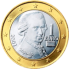 Coin visual: Austria, 1 Euro (First series)