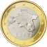 Coin visual: Estonia, 1 Euro (First series)