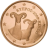 Coin visual: Cyprus, 1 cent (First series)