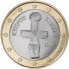 Coin visual: Cyprus, 1 Euro (First series)