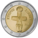 Coin visual: Cyprus, 2 Euros (First series)