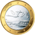 Coin visual: Finland, 1 Euro (First series)