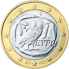 Coin visual: Greece, 1 Euro (First series)