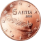 Coin visual: Greece, 5 cents (First series)