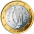 Coin visual: Irland, 1 Euro (First series)