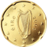 Coin visual: Irland, 20 cents (First series)