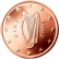 Coin visual: Irland, 2 cents (First series)