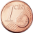 Coin visual: Common face, 1 cent (First series)