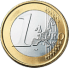 Coin visual: Common face, 1 Euro (First series)