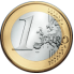 Coin visual: Common face, 1 Euro (Second series)