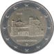 Commemorative Euro coin visual: Germany 2014, St. Michael's Church in Hildesheim, Lower Saxony. Ninth of the Bundesländer series