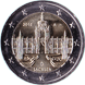 Commemorative Euro coin visual: Germany 2016, Zwinger Palace in Dresden - Eleventh of the Bundesländer series