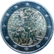 Commemorative Euro coin visual: Germany 2019, 30 years since the Fall of the Berlin Wall common commemorative coin with France