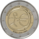 Commemorative Euro coin visual: Germany 2009, Ten years of Economic and Monetary Union (EMU) and the birth of the euro
