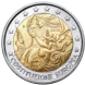Commemorative Euro coin visual: Italy 2005, 1st Anniversary of the Signing of the European Constitution