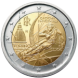 Commemorative Euro coin visual: Italy 2006, Winter Olympics in Turin 2006