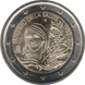 Commemorative Euro coin visual: Italy 2018, 60 years since the formation of the Ministry of Health