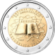 Commemorative Euro coin visual: Italy 2007, 50th Anniversary of the Austrian State Treaty