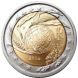 Commemorative Euro coin visual: Italy 2004, Fifth Decade of the World Food Programme