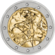 Commemorative Euro coin visual: Italy 2008, 60th Anniversary of the Universal Declaration of Human Rights