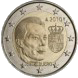 Commemorative Euro coin visual: Luxembourg 2010, Arms of the Grand Duke