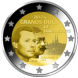 Commemorative Euro coin visual: Luxembourg 2012, 100 years since the Death of William IV, Grand Duke of Luxembourg