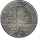 Commemorative Euro coin visual: Luxembourg 2014, 175th anniversary of the Foundation of Luxembourg's independence