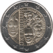 Commemorative Euro coin visual: Luxembourg 2015, 125th anniversary of the Nassau-Weilburg Dynasty