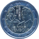 Commemorative Euro coin visual: Luxembourg 2018, 175 years since the death of Grand Duke William I