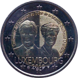 Commemorative Euro coin visual: Luxembourg 2019, 100th anniversary of Grand Duchess Charlotte's accession to the throne